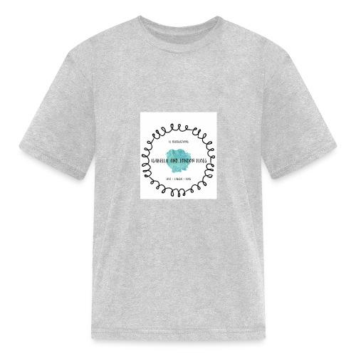 Isabella and London Vlogs Merch - Kids' T-Shirt