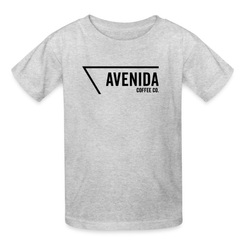 Avenida Logo in Black - Kids' T-Shirt