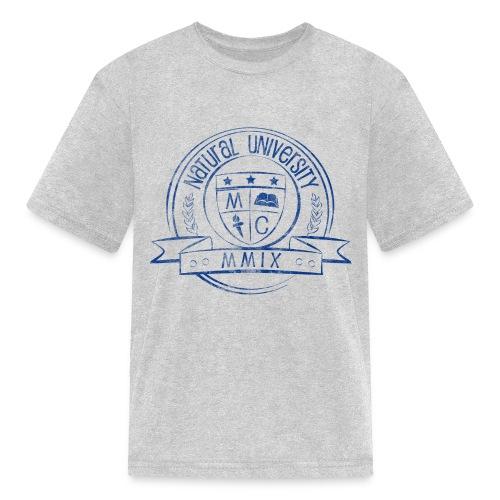 MahoganyCurls Natural University Tee - Kids' T-Shirt