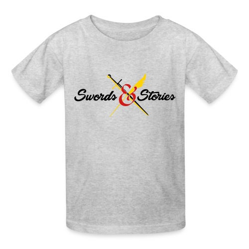 Swords and Stories Logo - Kids' T-Shirt