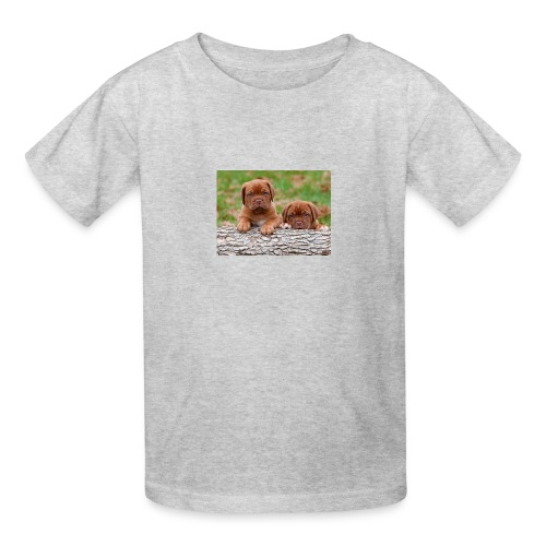 French Mastiff Puppies - Kids' T-Shirt
