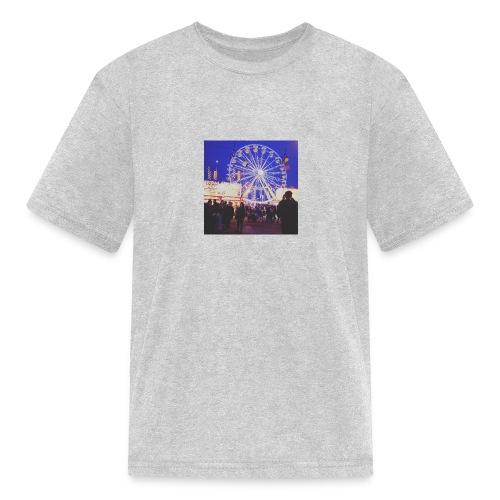 night falls down - Kids' T-Shirt