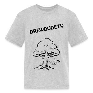 BOY FALLS FROM TREE - Kids' T-Shirt