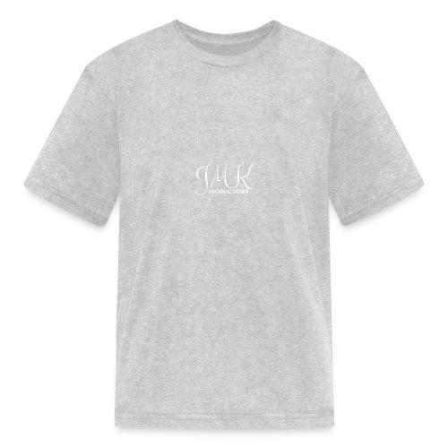 JMK White Text - Kids' T-Shirt