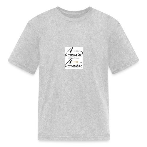 conectores vector musica - Kids' T-Shirt
