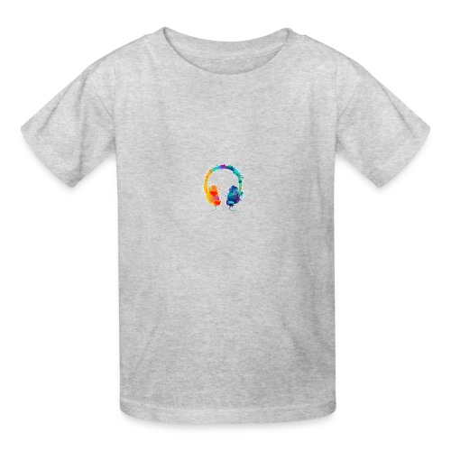 Colourful headset - Kids' T-Shirt