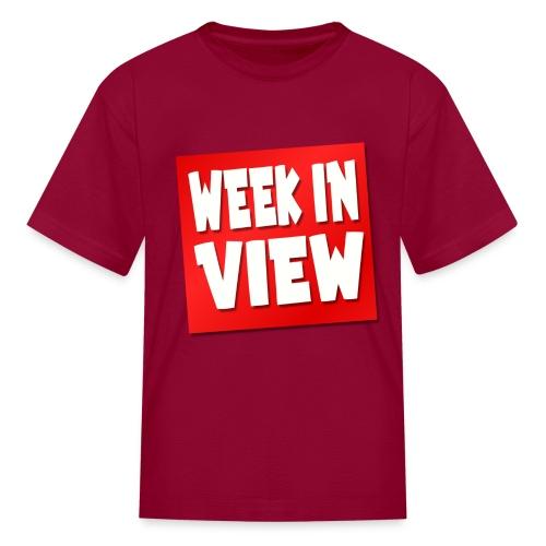 WEEK IN VIEW LOGO - Kids' T-Shirt