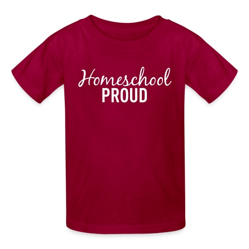 Homeschool Proud #2 White - Kids' T-Shirt