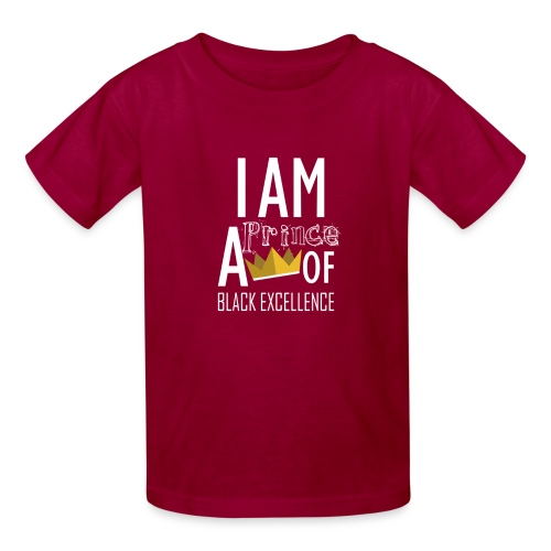 I AM A PRINCE OF BLACK EXCELLENCE - Kids' T-Shirt