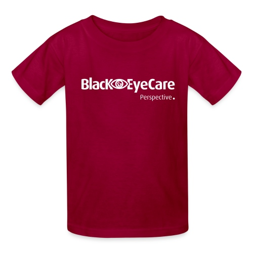 02 BlackEYeCareLogo Transparent 2 - Kids' T-Shirt