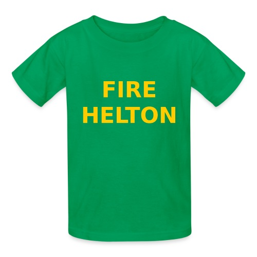 Fire Helton Shirt - Kids' T-Shirt