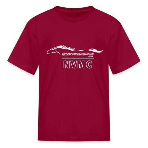 White logo - Kids' T-Shirt