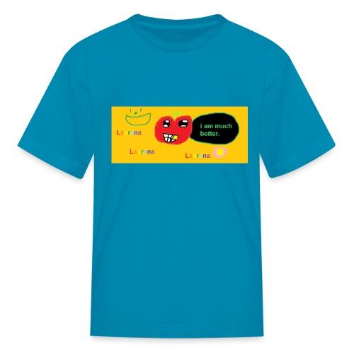 pechy vs apple - Kids' T-Shirt