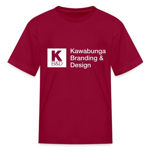 KBD Signature_blanc - Kids' T-Shirt