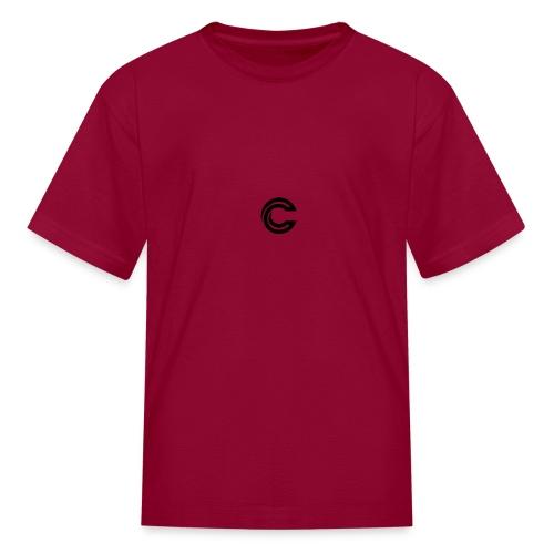 crazy new logo - Kids' T-Shirt