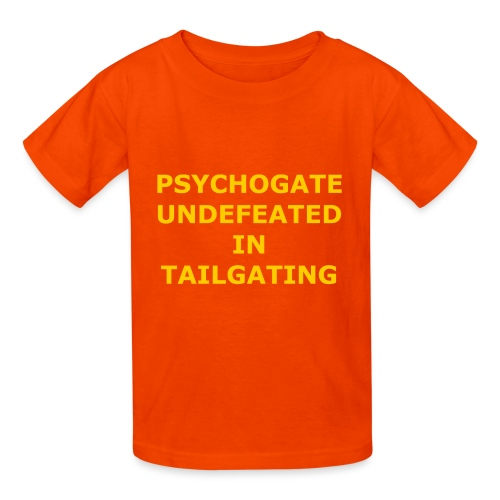 Undefeated In Tailgating - Kids' T-Shirt
