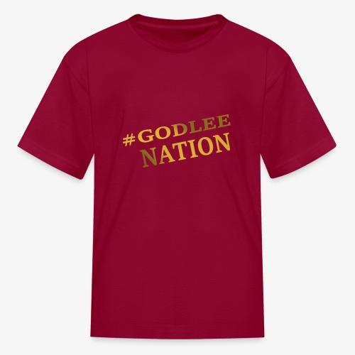 GodLee Nation - Kids' T-Shirt