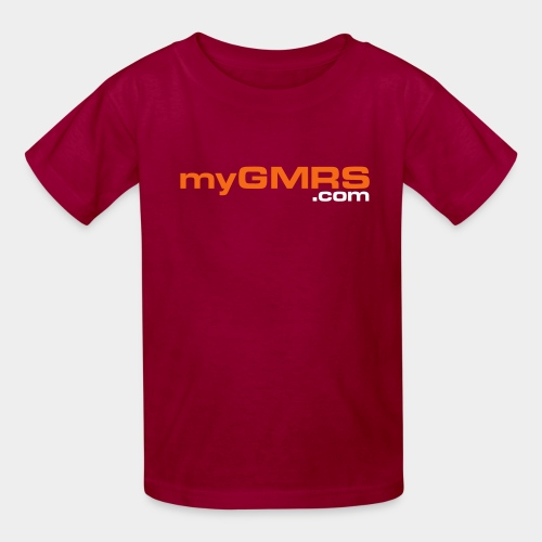 myGMRS.com and Tower - Kids' T-Shirt