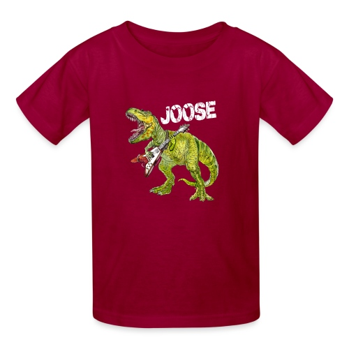 JOOSE T Rex white - Kids' T-Shirt
