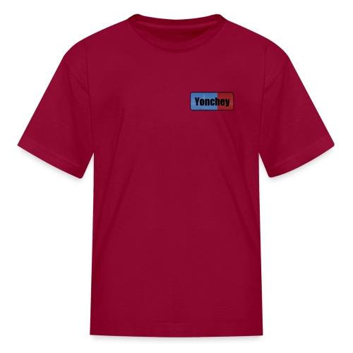 Yonchey logo - Kids' T-Shirt