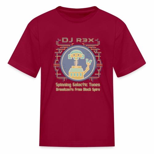 Galactic Tunes - DJ R3X - Kids' T-Shirt