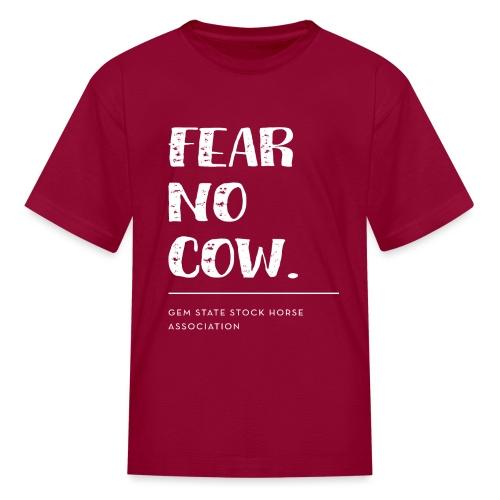 Fear no cow. - Kids' T-Shirt
