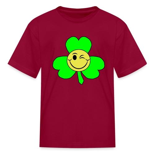 smileyclover - Kids' T-Shirt