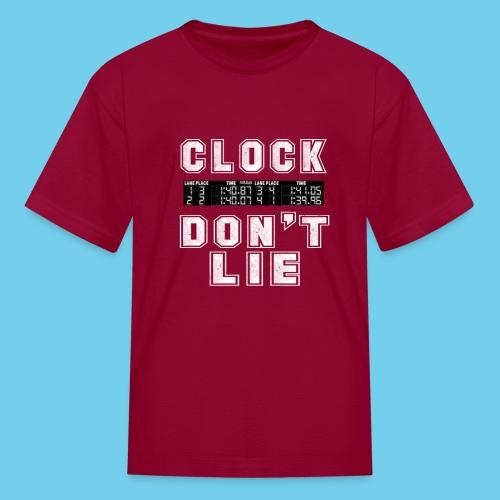 Clock don't lie - Kids' T-Shirt