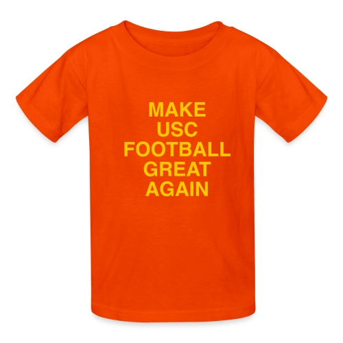 Make USC Football Great Again - Kids' T-Shirt