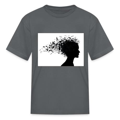 music through my head - Kids' T-Shirt