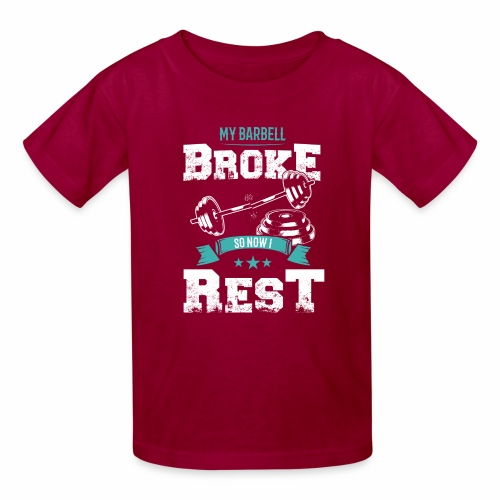 Workout Resting Time - Kids' T-Shirt