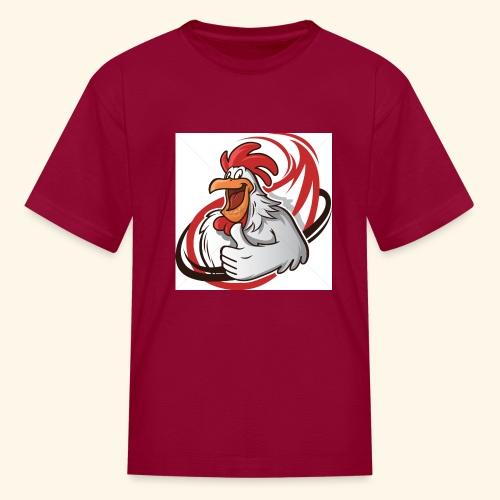 cartoon chicken with a thumbs up 1514989 - Kids' T-Shirt