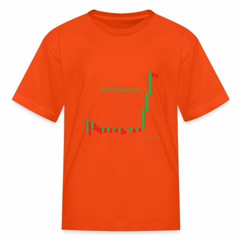 Short squeeze bar graph - Kids' T-Shirt