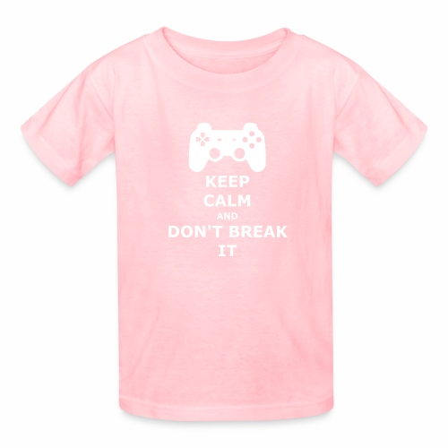 Keep Calm and don't break your game controller - Kids' T-Shirt