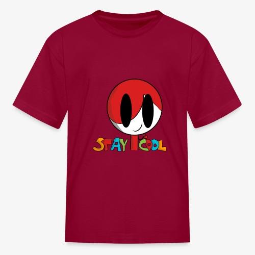 Stay Cool Kids Shirt by GamingKid3838 - Kids' T-Shirt