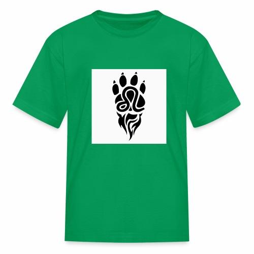 Black Leo Zodiac Sign - Kids' T-Shirt