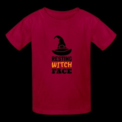 Resting Witch Face | Funny Halloween - Kids' T-Shirt