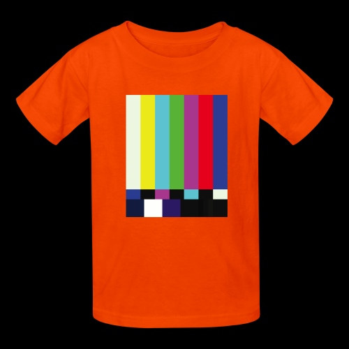 This is a TV Test | Retro Television Broadcast - Kids' T-Shirt