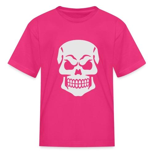 Skull Vector - Kids' T-Shirt