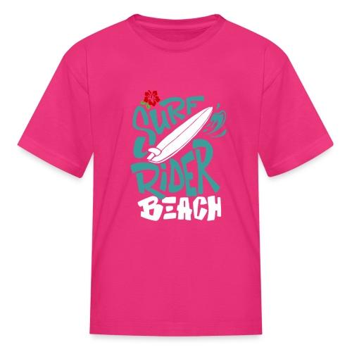 Surf rider beach - Kids' T-Shirt