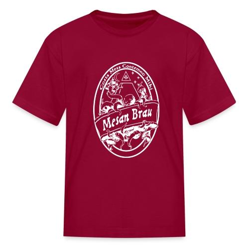 mesanbraucthsingle - Kids' T-Shirt
