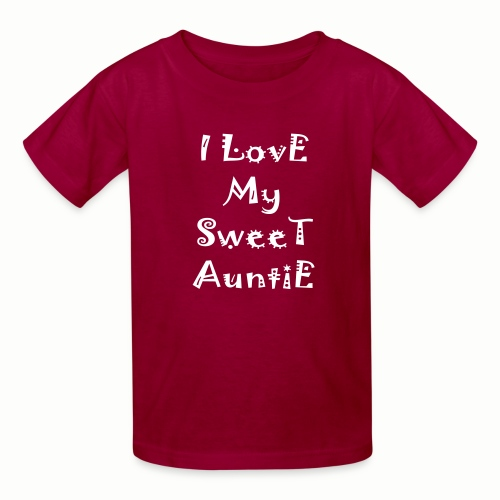 I love my sweet auntie - Kids' T-Shirt