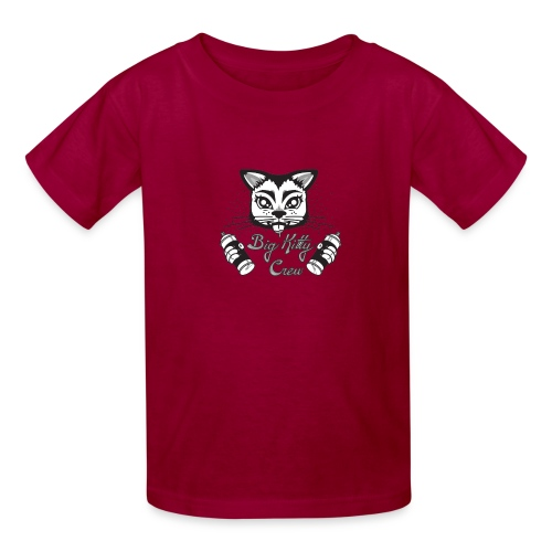 Big Kitty Spray Paint - Kids' T-Shirt