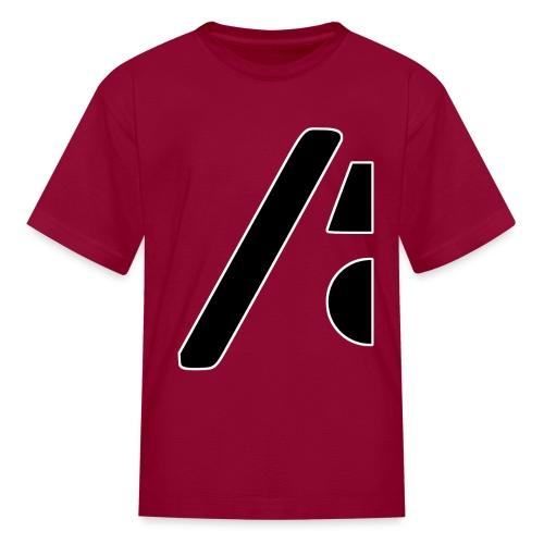 Half the logo, full on style - Kids' T-Shirt
