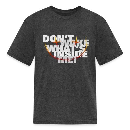 freak inside white - Kids' T-Shirt