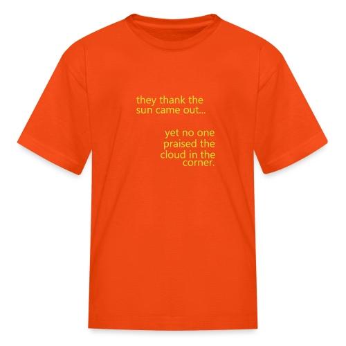 cloud & sun - Kids' T-Shirt