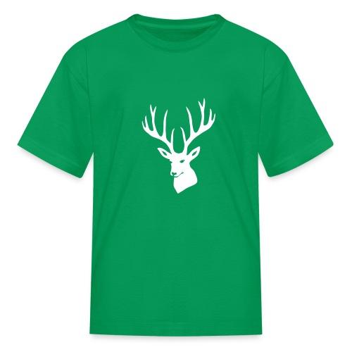stag night deer buck antler hart cervine elk - Kids' T-Shirt