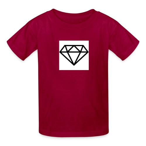 diamond outline 318 36534 - Kids' T-Shirt