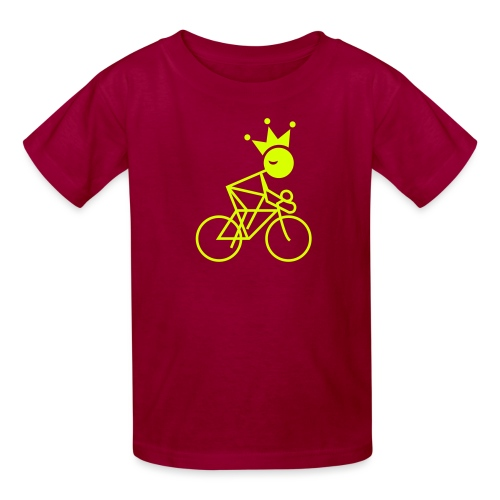 Winky Cycling King - Kids' T-Shirt