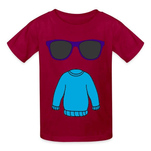 sweater glasses - Kids' T-Shirt
